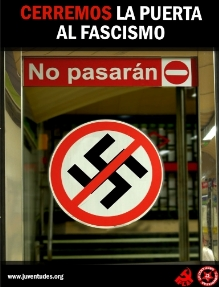Movilízate contra el fascismo.