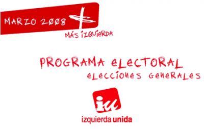 Programa Electoral de IU