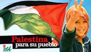 Concentración en solidaridad con el pueblo palestino en Orihuela.