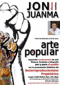 Clausura y fiesta de la exposición de Jon Juanma