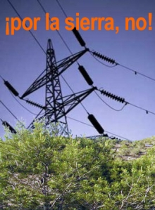 IU Orihuela ha presentado alegaciones contra el proyecto de tendido eléctrico sobre Sierra Escalona