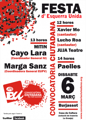 Fiesta de la Convocatoria Ciudadana